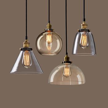 Edison Bulb Modern Vintage Clear Gl Hanging Pendant Light Fixtures Product
