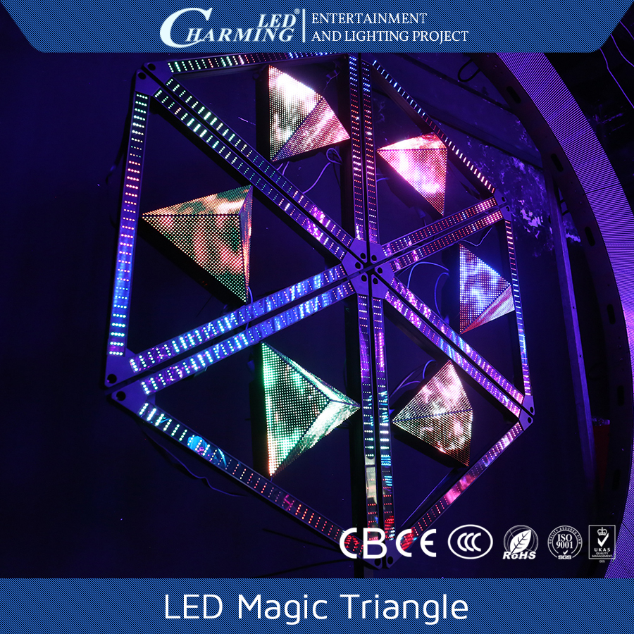 Special shape screen dj lighting for club/stage/bar