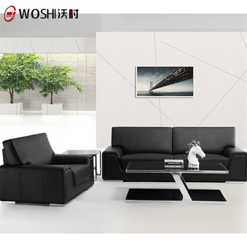New Product Office 5 7 Seater Full Grain Leather Sofa Set For Online India