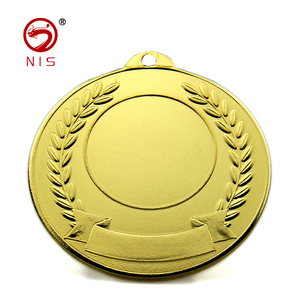 cheap price iron blank insert school kids general medal