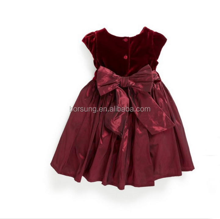 Autumn Winter Children Frocks Designs Baby Clothes Sweet