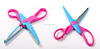 Children/Kids School Craft Scissors Paper Shape Cutting Scissors
