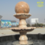 Stone Garden Products Sunset Glow Red Ball Shaped Flowing Water Fountain