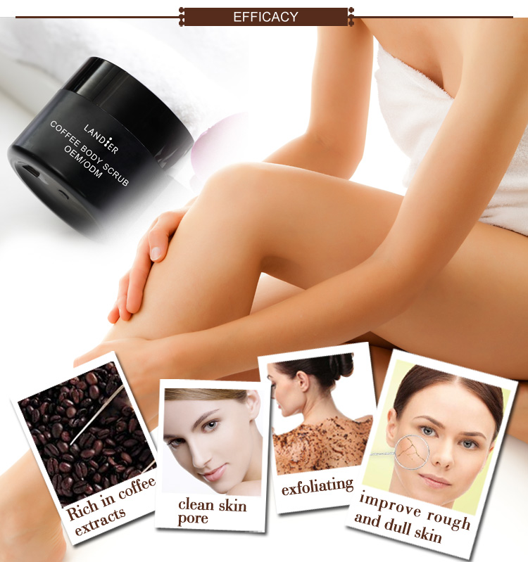 Hot Sale Private Label Organic Arabica Coffee Body Scrub