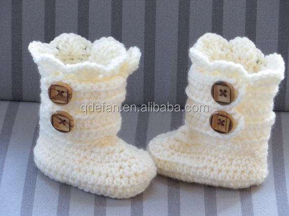 Alibaba Wholesale Handmade Beautiful Crochet Baby Booties Buy