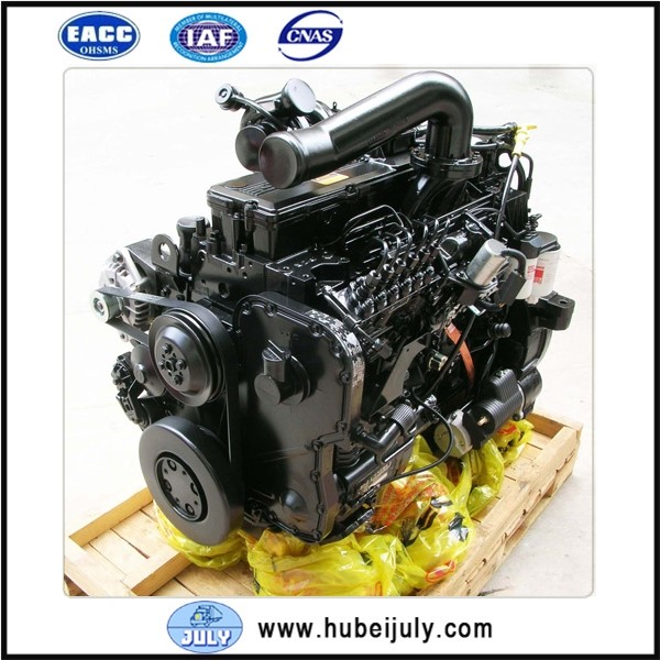 For 6-Cylinder Dongfeng Cummins Engine Assembly L375-20 L375-30, For Cummins Inline 6 Engine