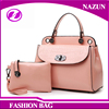 Wholesale Latest Women Shoulder Bags Tote Bag Pu Leather 2 Pieces Sets Elegance Fashion Bag Ladies Handbag 2016