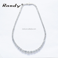 Plating Rhodium/18k Real Gold Charm Necklace For Women