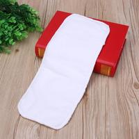 Reusable Baby Infant Cloth Diapers Liners 3-Layer Soft Baby Nappy Liners Insert Water Absorbent Breathable Baby Diaper