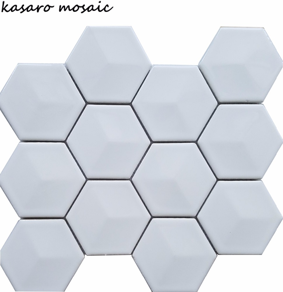 White Hexagon Tile,Hexagon Bathroom Floor Tiles,Hexagon Tiles - Buy ...