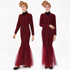 2019 new design fashionable islamic clothing women muslim dress moroccan abaya jilbab