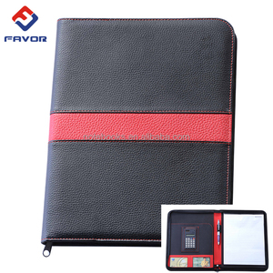 hot sale a4 size tablet case with jotter folio