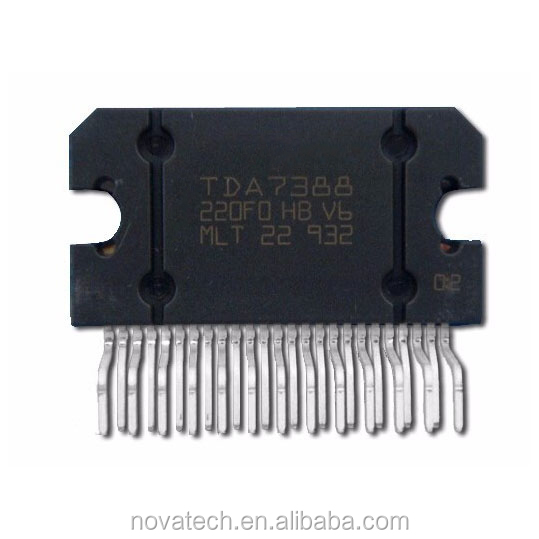 List electronic items 4-channel audio power amplifier ic tda7388