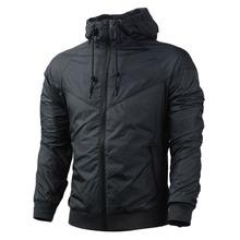Free shipping 2015 NK windrunner Men sportswear High Quality waterproof Men sports jacket. Fashion zipper hoodie coats