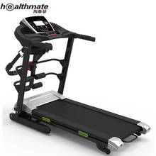Folding Heart Rate Sensors Treadmill, Electric Support Motorized Power,Running Fitness Jogging Exercise Health Sports Machine