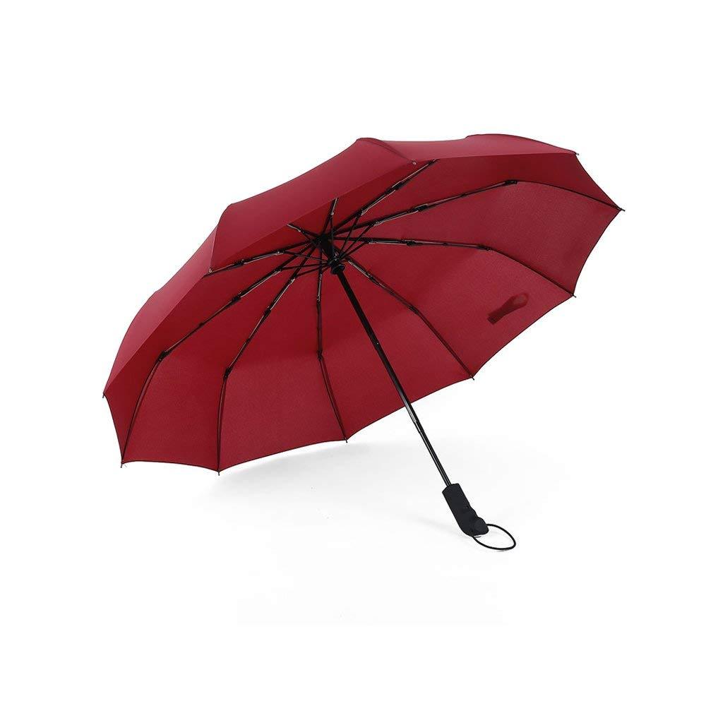 WILLIAM/&KATE Personality Middle Finger Umbrella Creative Folding Windproof Anti-UV Umbrella Lightweight Travel Black Umbrella