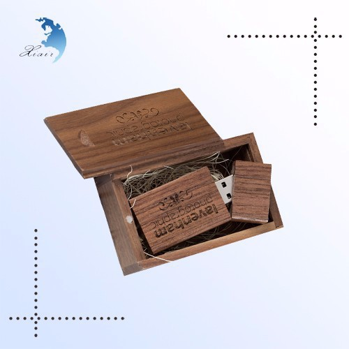 advantage price china suppliers 1gb flash drive gift wood box usb