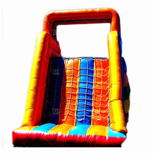 Small size indoor commercial inflatable dry slide for sale