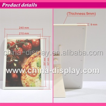 Acrylic Frame Desktop Laser Led Lighted Poster Build Led Light Box ...