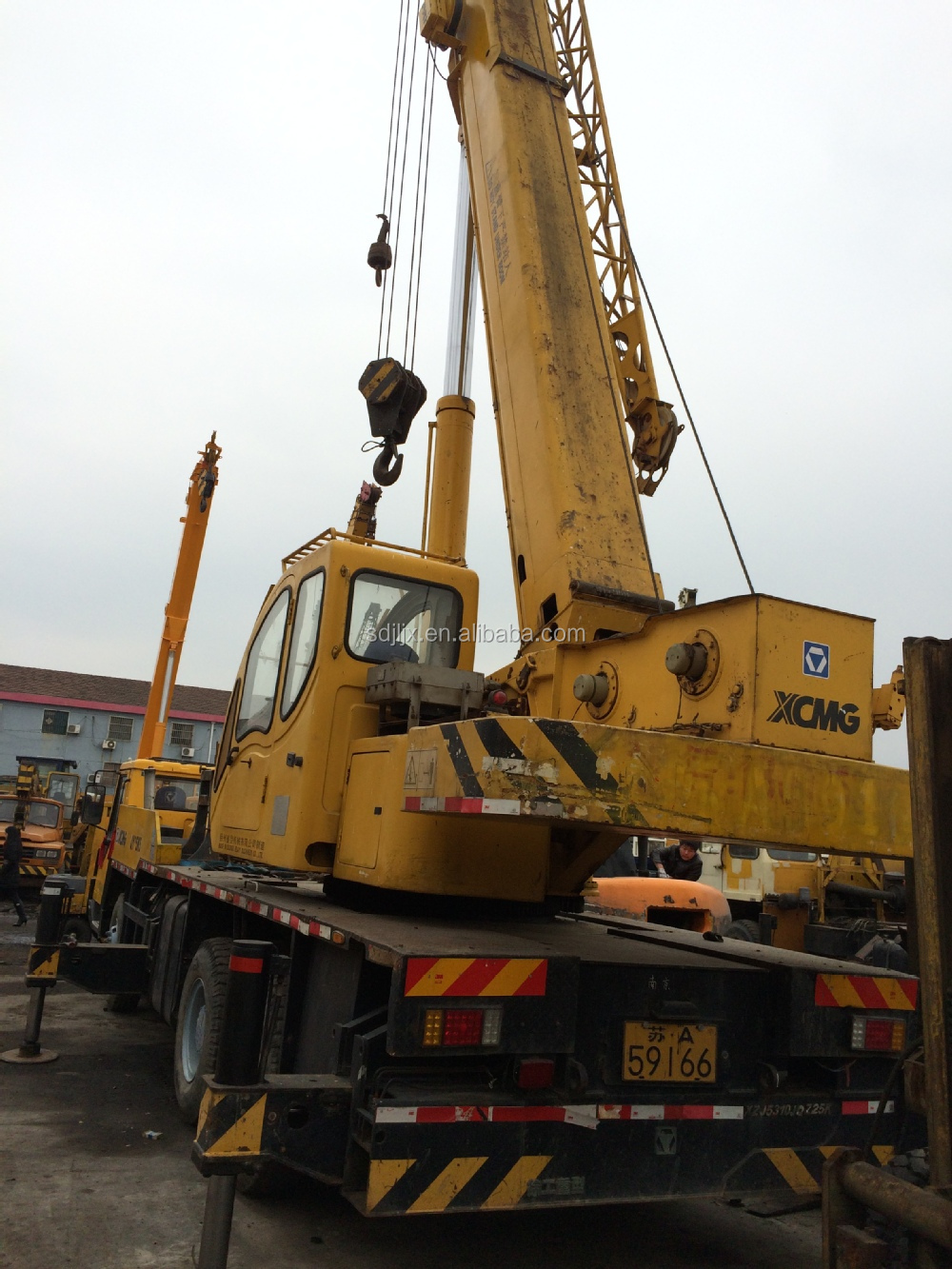Used 25 Ton Xcmg Truck Crane,Qy25k Crane Made In China/used Xcmg ...