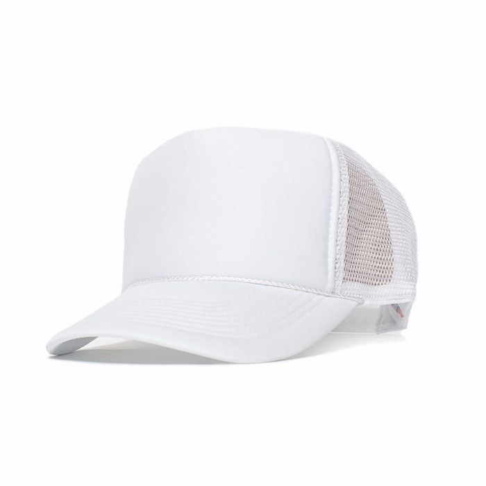 wholesale plain blank foam mesh curved brim hat trucker hats cap white baseball caps uk cheap fitted