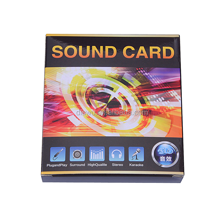 Hot selling pci 4 channel pci sound card driver /pci 4ch sound.