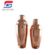 500ml/700ml stainless steel rose gold cocktail shaker set bar tools