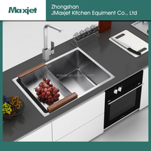 New design matt surface treatment kitchen sink with knife holder