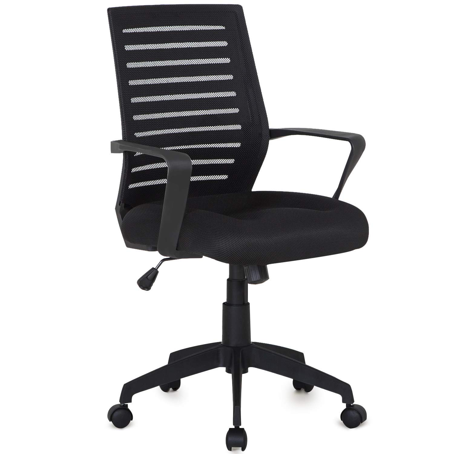 VECELO Premium Mesh Chair for Task / Desk / Home Office Work - Black