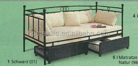 Einzigartige Multi Funktion Stark Metall Sofa Bett Rahmen Mit Lagerung  Schubladen Unter Design Von Die