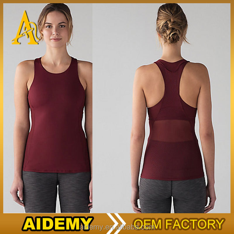 High Quality Sexy Ladies Gym vest Custom Tank Top Active Wear