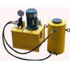 Hollow Prestressing Stressing 200 Ton Electric Lift Hydraulic Jack