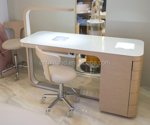 Superficie bellezza Del Chiodo Salone Tavolo manicure/manicure pedicure tavolo/nail manicure table