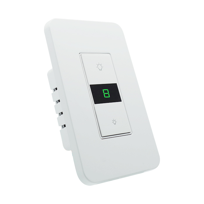 Control remoto inalámbrico Homekit iluminación regulable de interruptor de pared