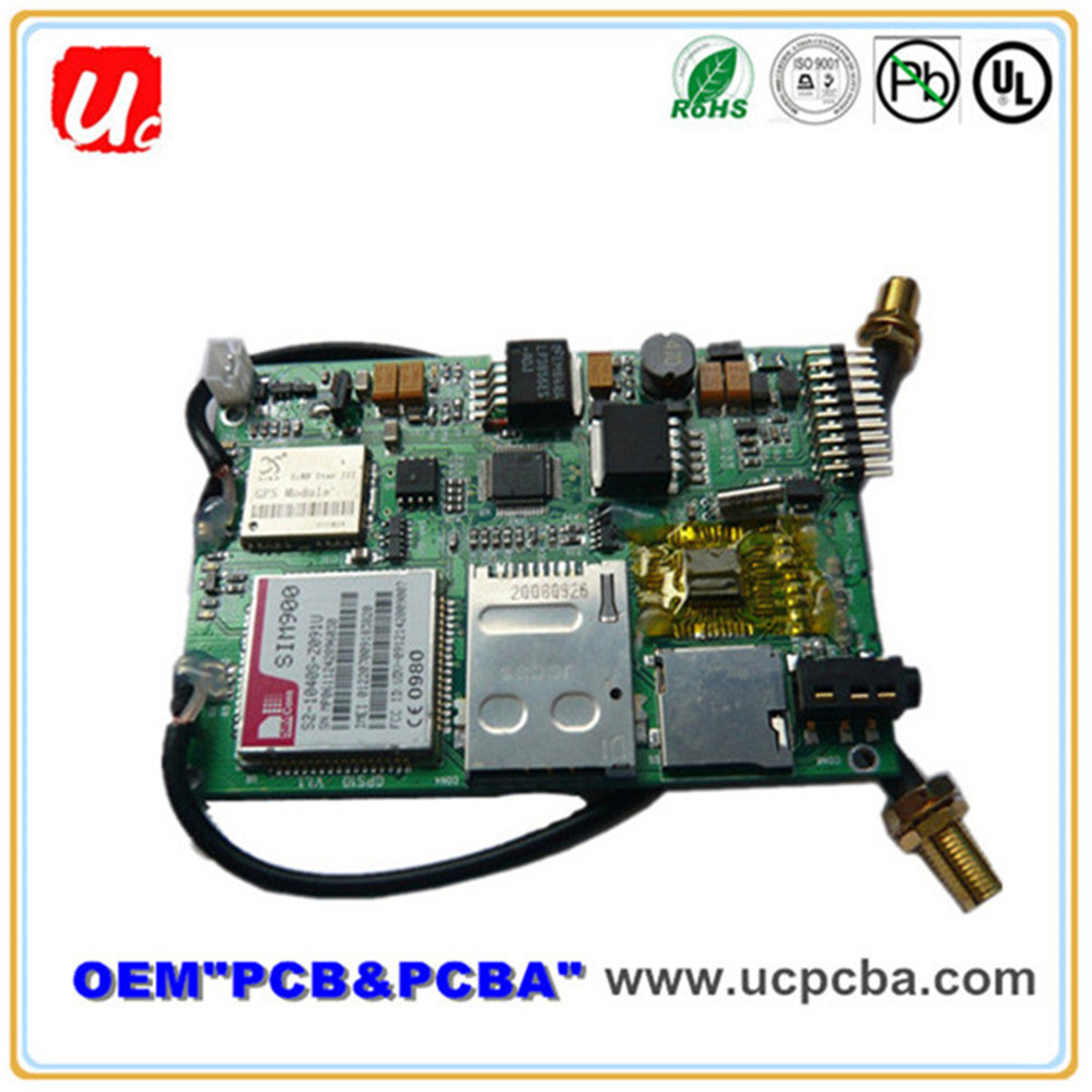 Competitive Price High Quality 4 layers GPS PCB PCBA Assembly Manufacturer From China