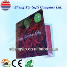 factory supply sound/talking/music paper greeting card