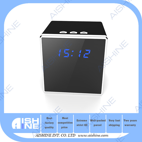 Full HD Hidden Cam Mini Wifi Alarm Clock Video Recorder Hidden Secret Camera IP Wireless Nanny Camera