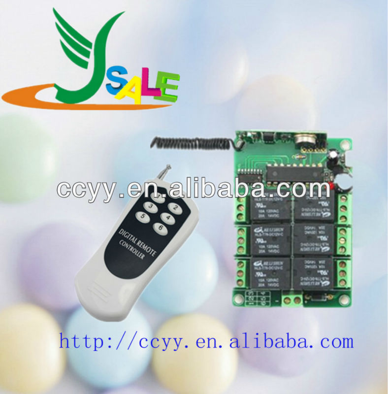 Wireless Electronic Remote Control Transmitter With Receiver