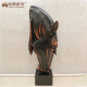 Resin horse head animal figurine for decoration