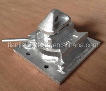 45 55 Degree Bolt On Container Dovetail Twist Lock Buy