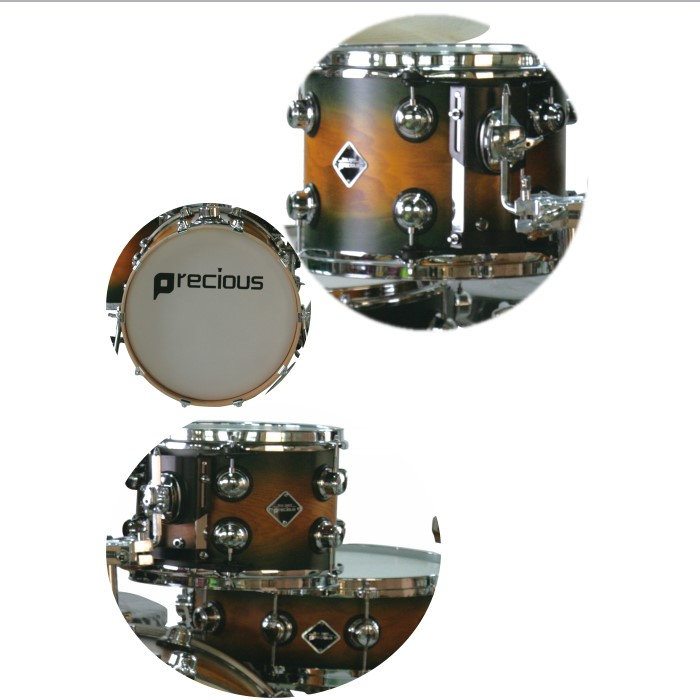 Tianjin supply high quality  jazz drum  professional suit