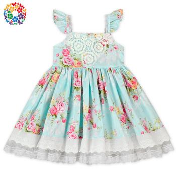 347c75ff2 Flor de verano patrones niños vestido diseños de vestidos de la muchacha de  los niños de