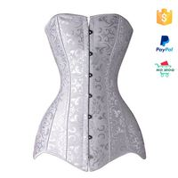 Plus Size Steel Boned Latex Corset And Bustier