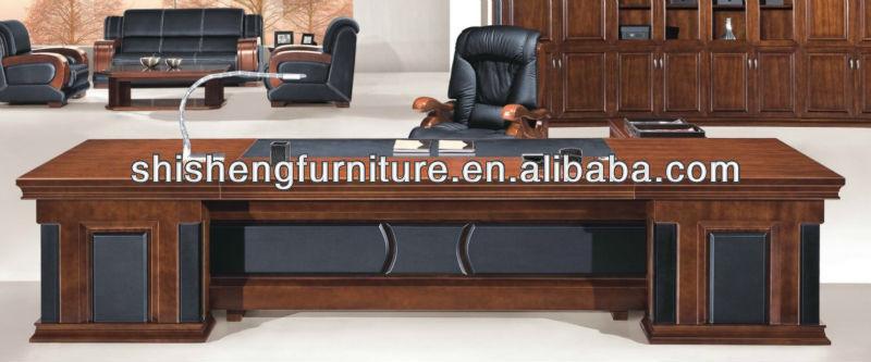 office table decoration. De Luxe En Cuir Décoration Bois Bureau Table Design - Buy Conception Bureau,Bureau,Table Product On Alibaba.com Office Decoration