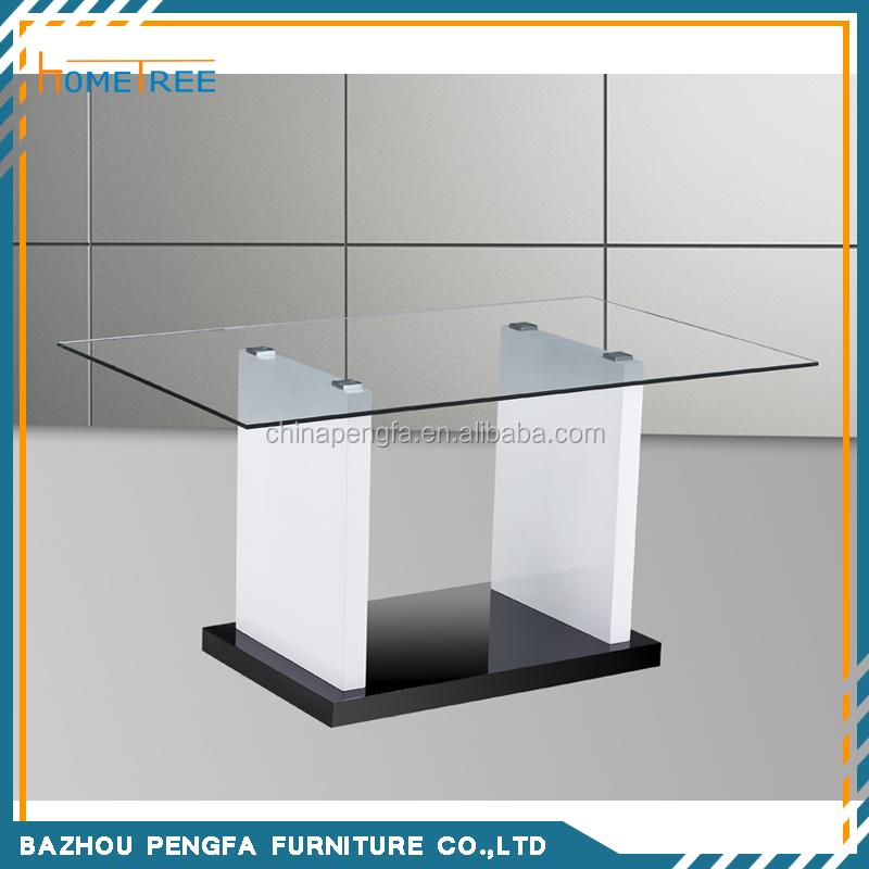 Mesa de madera bases para mesas de cristal-Mesas de Comedor ...