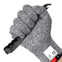 Cheap work safety cut resistant hand gloves