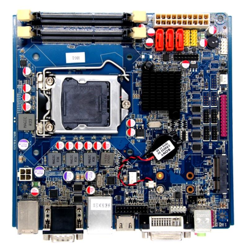 Lga1155 Intel Pentium Processor Industrial Mini-itx Motherboard For Vending  Machine Atm Pos Kiosk - Buy Pentium Processor Motherboard,Mini-itx