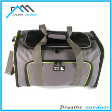 Airline Approved Soft Sided Pet Carrier, expandable pet carrier Travel Tote with Fleece Bedding & Safety Lock