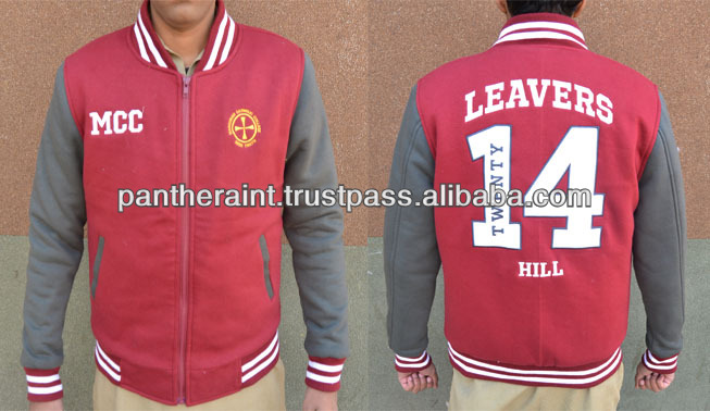 2014 australia college jacket custom college jacket