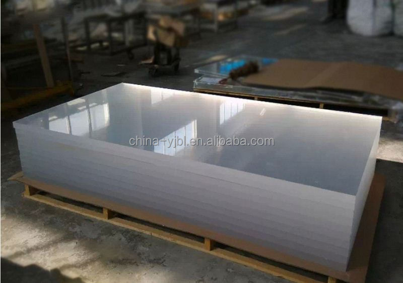 20mm cast transparent acrylic panel with SGS approved